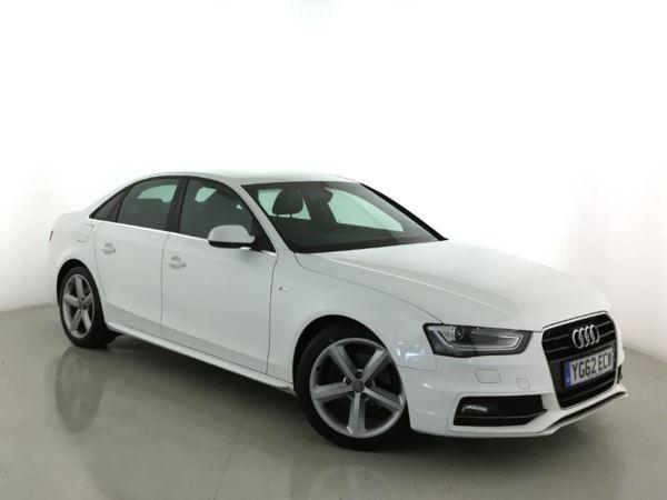(2012) Audi A4 2.0 TDI 143 S Line 4dr Luxurious Leather - Bluetooth Connection - £30 Tax - Parking Sensors - Aux