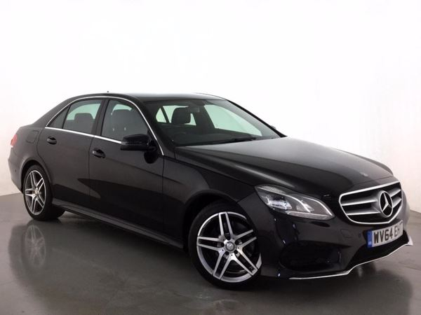 (2014) Mercedes-Benz E Class E220 BlueTEC AMG Line 4dr 7G-Tronic Satellite Navigation - Bluetooth Connection - Parking Sensors - DAB Radio