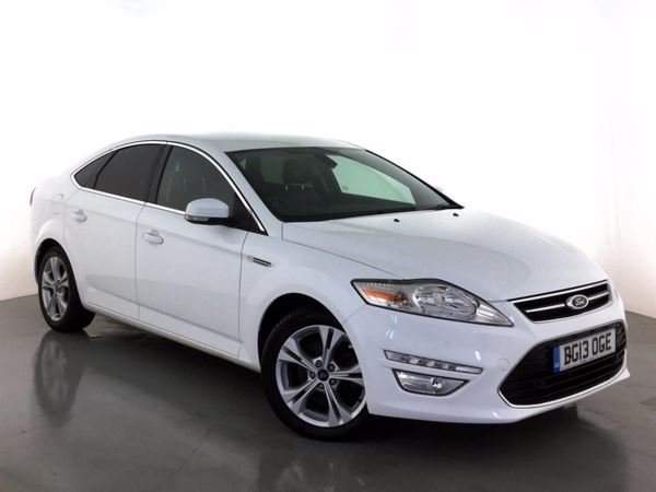 (2013) Ford Mondeo 2.0 TDCi 140 Titanium X Business Edition 5dr Satellite Navigation - Luxurious Leather - Bluetooth Connection - £30 Tax