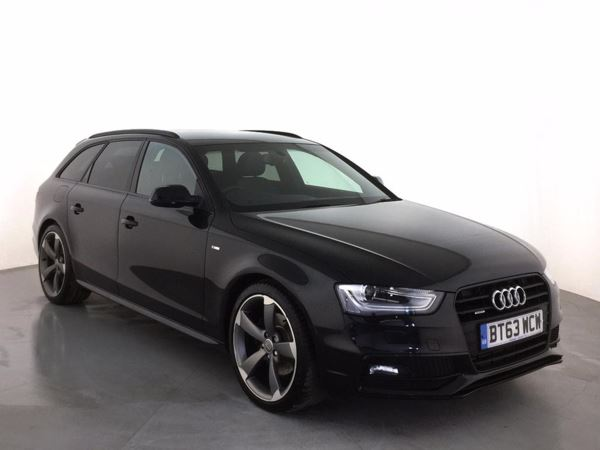 (2014) Audi A4 2.0 TDI 177 Quattro Black Edition 5dr S Tronic £2365 Of Extras - Luxurious Leather - Bluetooth Connection - Parking Sensors