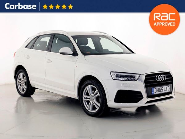 (2016) Audi Q3 2.0 TDI S Line 5dr - SUV 5 Seats Bluetooth Connection - Parking Sensors - Aux MP3 Input - Rain Sensor - 1 Owner - Climate Control