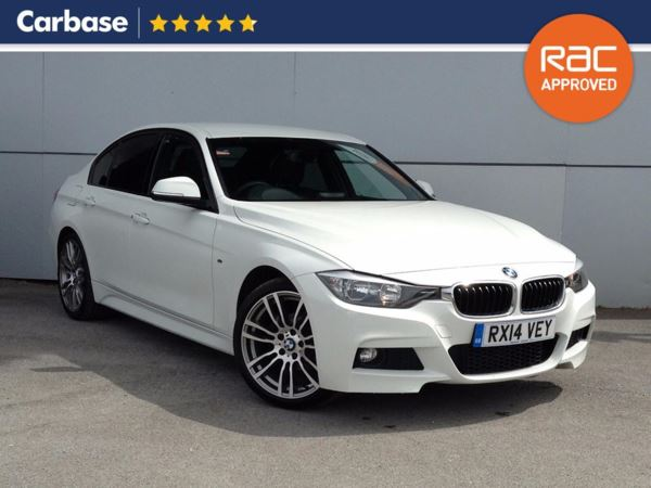 (2014) BMW 3 Series 318d M Sport 4dr £1640 Of Extras - Luxurious Leather - Bluetooth Connection - £30 Tax