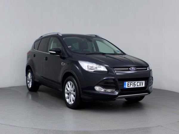 (2015) Ford Kuga 2.0 TDCi 150 Titanium 5dr 2WD - SUV 5 SEATS £1170 Of Extras - Bluetooth Connection - Parking Sensors - DAB Radio - Aux