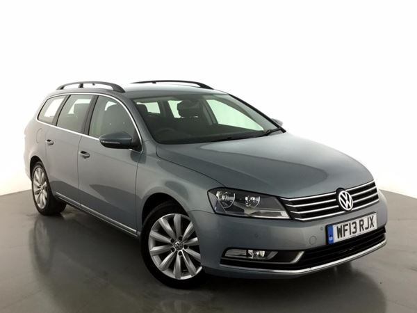 (2013) Volkswagen Passat 2.0 TDI Bluemotion Tech Highline 5dr £800 Of Extras - Satellite Navigation - Bluetooth Connection - £30 Tax