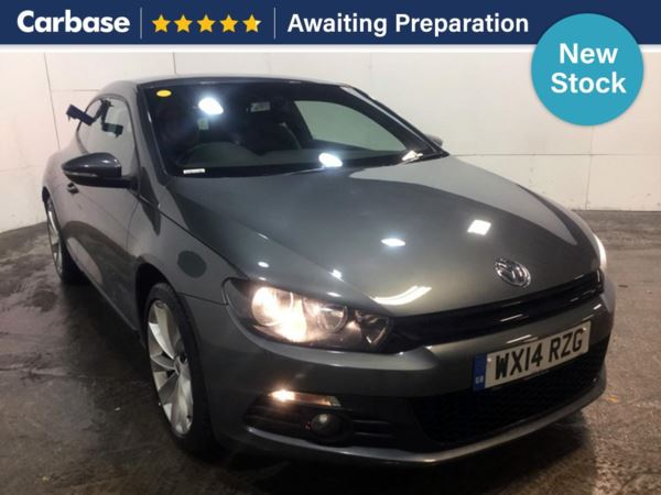 (2014) Volkswagen Scirocco 2.0 TDi BlueMotion Tech GT 3dr Satellite Navigation - Luxurious Leather - Bluetooth Connection - Parking Sensors
