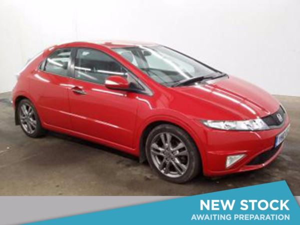 (2010) Honda Civic 2.2 i-CTDi Si 5dr Luxurious Leather - Aux MP3 Input - Climate Control - Air Conditioning
