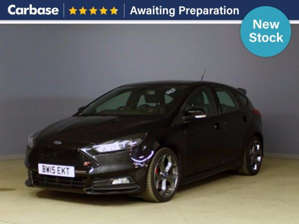 (2015) Ford Focus 2.0T EcoBoost ST-3 Navigation 5dr Satellite Navigation - £20 Tax - Rain Sensor - 6 Speed - Air Conditioning