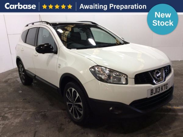 (2013) Nissan Qashqai+2 1.6 [117] 360 5dr - SUV 5 Seats Panoramic Roof - Satellite Navigation - Luxurious Leather - Bluetooth Connection