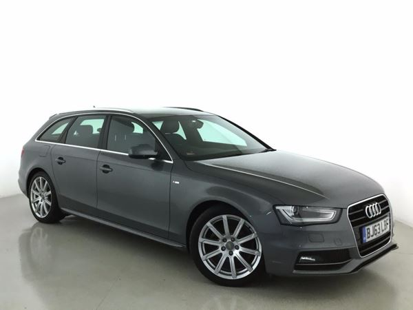 (2013) Audi A4 2.0 TDI 177 S Line 5dr £1425 Of Extras - Bluetooth Connection - Parking Sensors - Aux MP3 Input