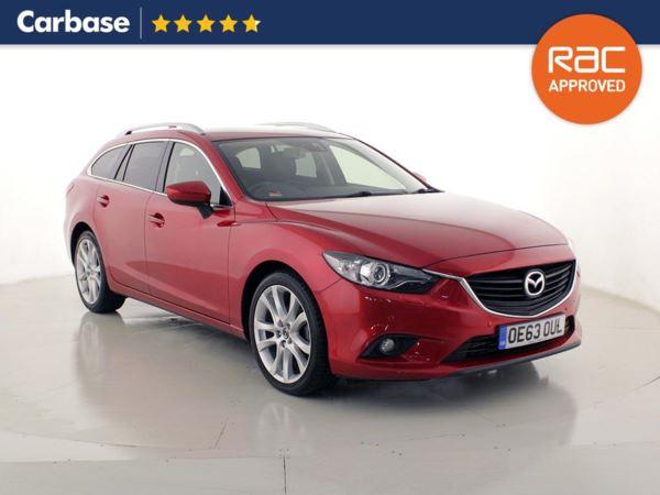 (2014) Mazda 6 2.2d [175] Sport Nav 5dr Estate Satellite Navigation - Bluetooth Connection - Parking Sensors - DAB Radio