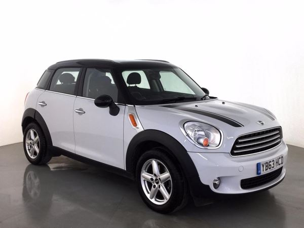 (2014) MINI Countryman 1.6 Cooper D 5dr - SUV 5 Seats £2095 Of Extras - Satellite Navigation - Bluetooth Connection - £30 Tax