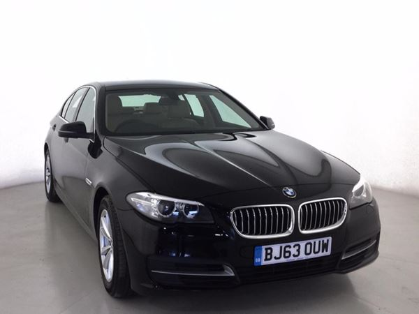 (2014) BMW 5 Series 518d SE 4dr Step Auto £1940 Of Extras - Satellite Navigation - Luxurious Leather - Bluetooth Connectivity