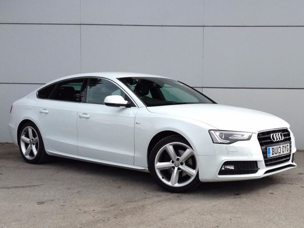 (2013) Audi A5 2.0 TDI 177 S Line 5dr Multitronic [5 Seat] £3095 Of Extras - Satellite Navigation - Luxurious Leather