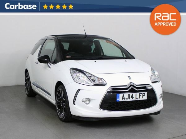 (2014) Citroen DS3 1.6 e-HDi Airdream DStyle Plus 2dr Cabrio Bluetooth Connection - Parking Sensors - Aux MP3 Input - USB Connection - Cruise Control - 1 Owner