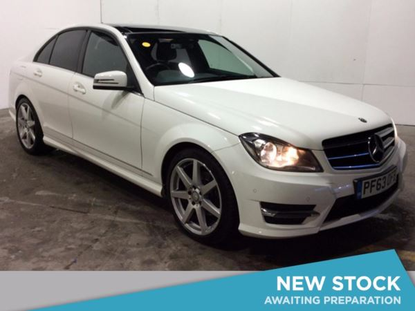 (2014) Mercedes-Benz C Class C220 CDI AMG Sport Edition 4dr Auto [Premium Plus] £3120 Of Extras - Panoramic Roof - Luxurious Leather - Bluetooth Connection