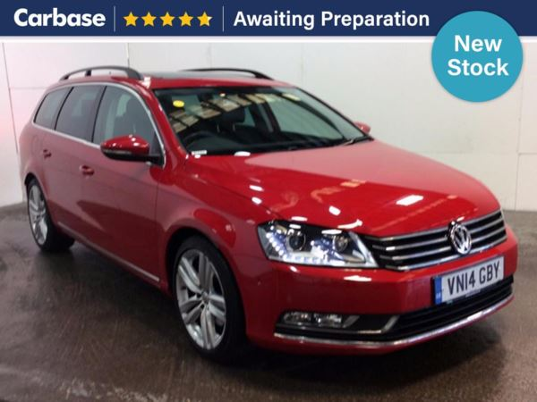 (2014) Volkswagen Passat 2.0 TDI 177 Bluemotion Tech Executive Style 5dr Estate £2545 Of Extras - Panoramic Roof - Satellite Navigation - Luxurious Leather