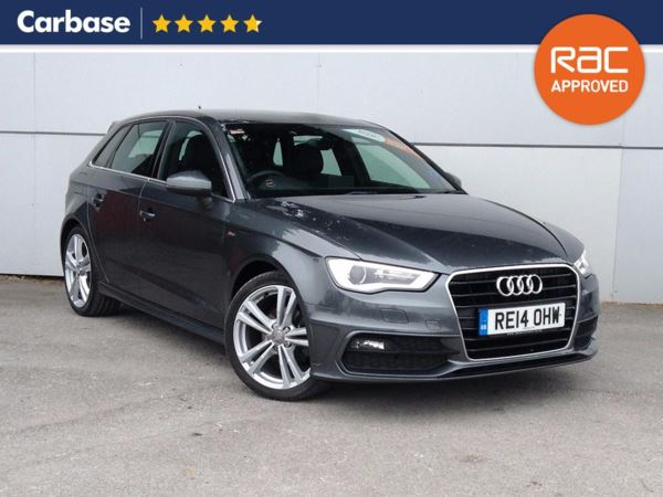 (2014) Audi A3 1.6 TDI S Line 5dr Sportback £675 Of Extras - Bluetooth Connection - Zero Tax - DAB Radio - Xenon Headlights