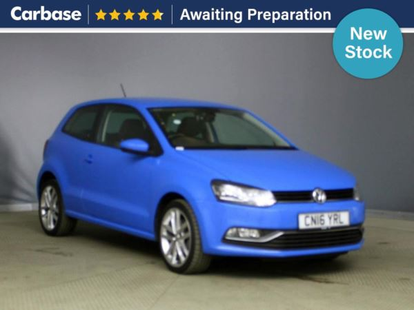 (2016) Volkswagen Polo 1.0 110 SEL 3dr £970 Of Extras - Bluetooth Connection - Parking Sensors - DAB Radio - Cruise Control - 1 Owner