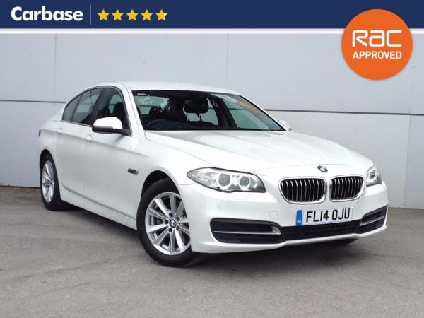 (2014) BMW 5 Series 520d SE 4dr Step Auto £3600 Of Extras - Satellite Navigation - Luxurious Leather - Bluetooth Connection