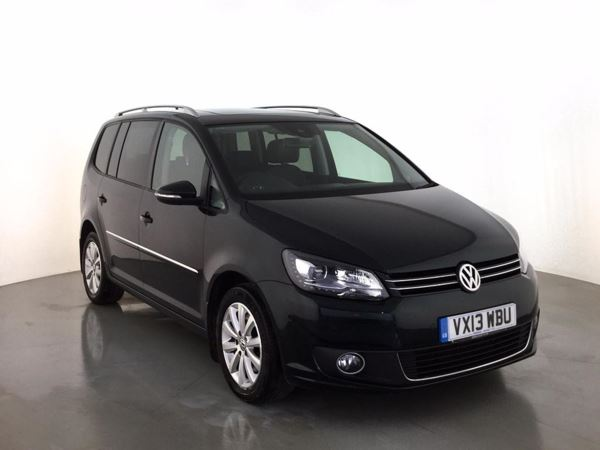 (2013) Volkswagen Touran 2.0 TDI BlueMotion Tech Sport 5dr - MPV 7 Seats £5535 Of Extras - Panoramic Roof - Satellite Navigation - Bluetooth Connection