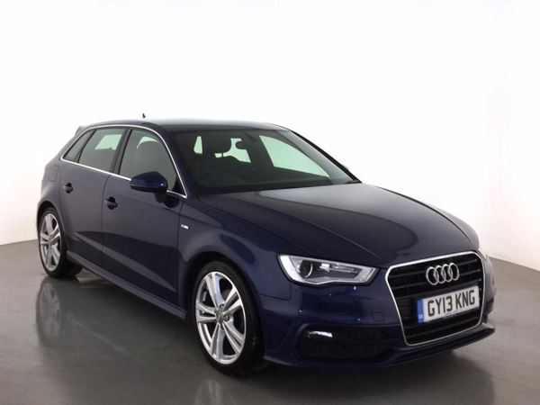 (2013) Audi A3 2.0 TDI S Line 5dr £1020 Of Extras - Bluetooth Connection - £20 Tax - DAB Radio - Xenon Headlights