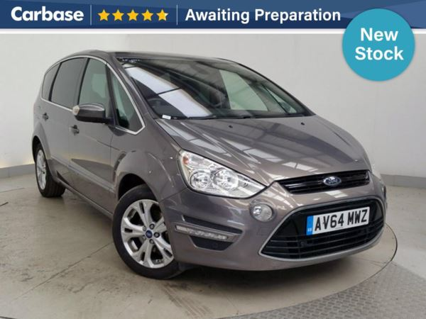 (2014) Ford S-MAX 2.0 TDCi 163 Titanium 5dr - MPV 7 Seats £3450 Of Extras - Panoramic Roof - Satellite Navigation - Bluetooth Connection - Parking Sensors