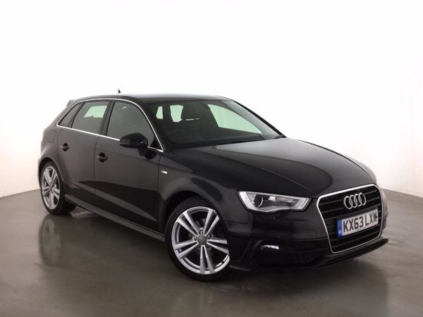 (2013) Audi A3 2.0 TDI S Line 5dr £1320 Of Extras - Luxurious Leather - Bluetooth Connection - £20 Tax - DAB