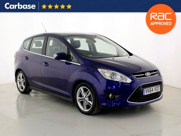 (2015) Ford C-MAX 1.6 TDCi Titanium X 5dr - MPV 5 Seats Panoramic Roof - Bluetooth Connection - DAB Radio - Aux MP3 Input