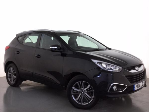(2014) Hyundai Ix35 2.0 CRDi SE Nav 5dr Satellite Navigation - Bluetooth Connection - USB Connection - Rain Sensor