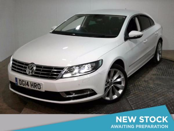 (2014) Volkswagen CC 2.0 TDI BlueMotion Tech GT 4dr Satellite Navigation - Luxurious Leather - Bluetooth Connection - £30 Tax