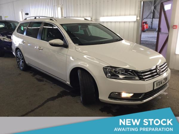 (2014) Volkswagen Passat 2.0 TDI Bluemotion Tech Sport 5dr Estate £730 Of Extras - Satellite Navigation - Bluetooth Connection - £30 Tax