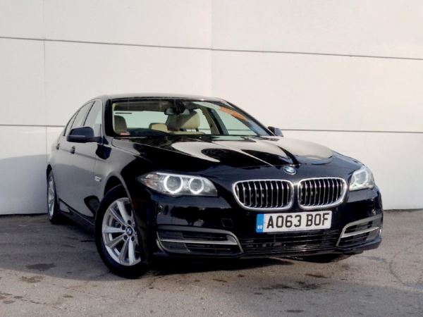 (2013) BMW 5 Series 520d SE 4dr Step Auto [Start Stop] £2135 Of Extras - Satellite Navigation - Luxurious Leather - Bluetooth