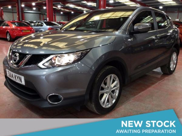 (2014) Nissan Qashqai 1.5 dCi Acenta [Smart Vision Pack] 5dr - SUV 5 Seats Bluetooth Connection - Zero Tax - Rain Sensor - Cruise Control - Air Conditioning