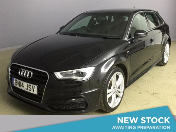 (2014) Audi A3 1.6 TDI S Line 5dr £695 Of Extras - Bluetooth Connection - Zero Tax - DAB Radio - Xenon Headlights