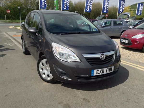 (2011) Vauxhall Meriva 1.7 CDTi 16V [130] S 5dr [AC] - MPV 5 Seats Parking Sensors - Aux MP3 Input - USB Connection - 6 Speed - Air Conditioning