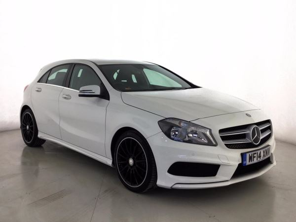 (2014) Mercedes-Benz A Class A180 CDI BlueEFFICIENCY Sport 5dr Bluetooth Connection - £20 Tax - Rain Sensor - Cruise Control