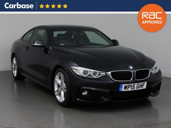 (2015) BMW 4 Series 425d M Sport 2dr Auto [Professional Media] £3140 Of Extras - Satellite Navigation - Luxurious Leather - Bluetooth Connection