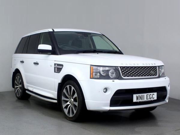 (2011) Land Rover Range Rover Sport 3.0 TDV6 Autobiography Sport 5dr CommandShift Satellite Navigation - Luxurious Leather - Bluetooth Connection - Parking Sensors