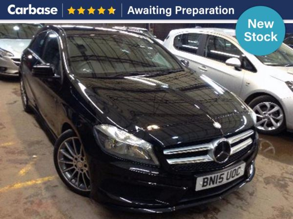 (2015) Mercedes-Benz A Class A220 CDI BlueEFFICIENCY AMG Sport 5dr Auto Bluetooth Connection - £20 Tax - Aux MP3 Input - USB Connection - Rain Sensors