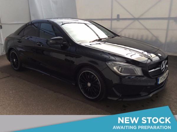 (2014) Mercedes-Benz CLA CLASS CLA 220 CDI AMG Sport 4dr Tip Auto [Comand] £5040 Of Extras - Satellite Navigation - Bluetooth Connection - £30 Tax