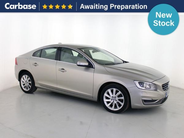 (2014) Volvo S60 D4 [181] SE Lux Nav 4dr Geartronic £1300 Of Extras - Satellite Navigation - Luxurious Leather - Bluetooth Connection - Parking Sensors