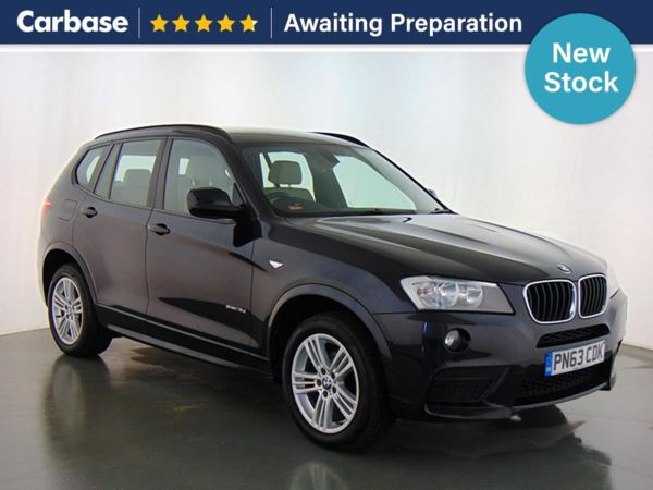 (2013) BMW X3 sDrive18d M Sport 5dr - SUV 5 Seats Luxurious Leather - Parking Sensors - DAB Radio - Aux MP3 Input
