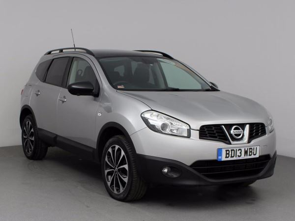 (2013) Nissan Qashqai+2 1.6 dCi 360 5dr [Start Stop] - SUV 5 Seats Panoramic Roof - Satellite Navigation - Bluetooth Connection - USB Connection