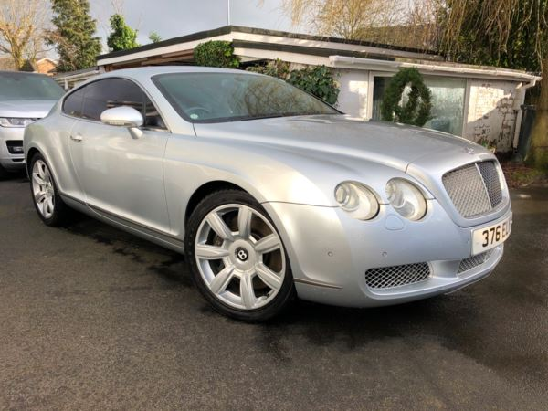 2004 Bentley Continental GT 6.0 W12 2dr Auto For Sale In Warrington, Cheshire