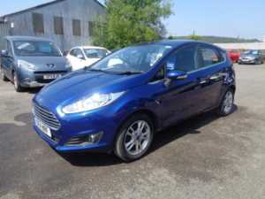 2014 (14) Ford Fiesta 1.25 Zetec For Sale In Cinderford, Gloucestershire