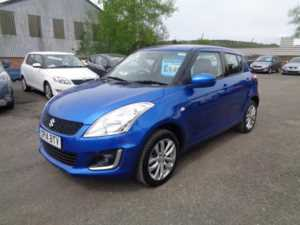2014 (14) Suzuki Swift 1.2 SZ3 4X4 For Sale In Cinderford, Gloucestershire