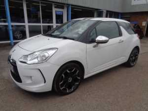 2010 (60) Citroen DS3 1.6 HDi White *ONLY £20 A YEAR TAX* For Sale In Cinderford, Gloucestershire