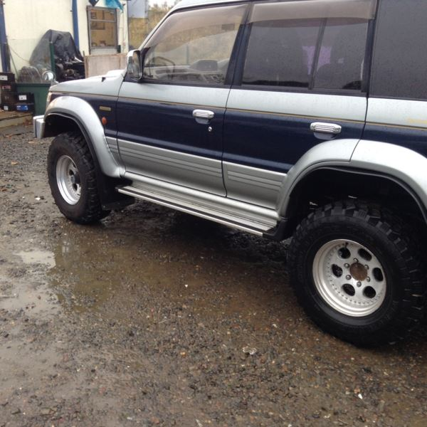 2004 (P) Mitsubishi Pajero EXCEED 2.8 DIESEL LWB 7 SEATER, TOW BAR, UPRATED SUSPENSION, ALLOYS For Sale In Edinburgh, Mid Lothian