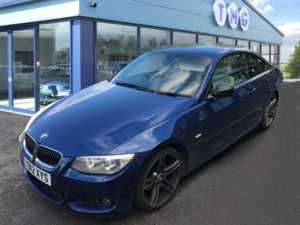 2012 12 BMW 3 Series 320d Sport Plus 2dr Step Auto 2 Doors Coupe