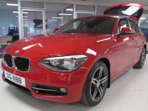 2013 BMW 1 Series 116i SPORT [Start Stop] 5dr Bluetooth Sport Seats 5 Doors HATCHBACK